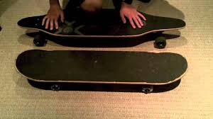 Types Of Longboard Decks by Difference Between Longboards And Skateboards Youtube