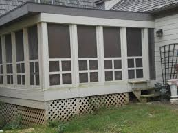 Screened In Porch Decorating Ideas And Photos by All About Vignettes Some Landscaping For The Screened Porch