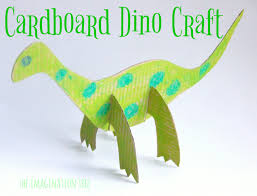 Cardboard Dinosaur Craft For Kids