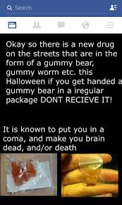 History Of Tainted Halloween Candy by Don U0027t Recieve Iregular Packaged Gummy Bear For Halloween