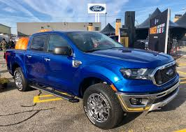 Ford Debuts Ranger Mid-size Pickup At Michigan Assembly Plant In ... 2019 Ford Ranger Spy Shots Show Chevy Colorado Rival Gm Authority Midsize Pickup Truck The Allnew Small Is Midsize May Return To Us In 2018 New Shows New Midsize Pickup Ahead Of Detroit Auto Show Medium Pricing Means Arrival Drawing Near And Starts Making The This Week 7 Trucks From Around World Reinvented Discovey Slideshow Returning Here Are 5 Current An Affordable Rugged And Maneuverable Diesel