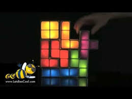 Tetris Stackable Led Desk Light by Tetris Stackable Led Desk Lamp Youtube