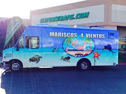 100 Food Truck Wraps Mariscos 4 Vientos Wrap Gator