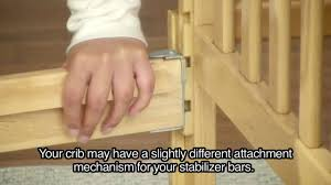 Bratt Decor Crib Assembly Instructions by Mattress Support Bars Stabilizer Bars Assembly Instructions