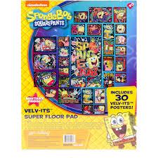 Spongebob Bathroom Decor Walmart by Horizon Group Usa Spongebob Squarepants Velv Its Super Coloring