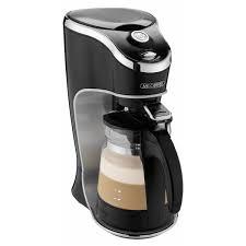 Mr Coffee Cafe Latte Home Brewer Black BVMC EL1