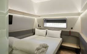 100 Tiny Room Designs These Hotel S Are Like First Class Airplane Suites