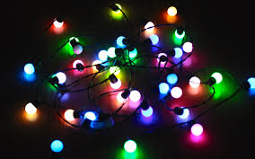 Colored Bulbs For Ceramic Christmas Tree by Rgb Christmas Lights Bulbs Color Changing Youtube