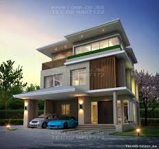 3 Storey House Colors The Three Story Home Plans 3 Bedrooms 4 Bathrooms Tropical Style