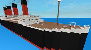 the sinking of the lusitanic not lusitania roblox