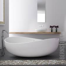 details zu bernstein design badewanne freistehende wanne wave mineralguss waschbecken