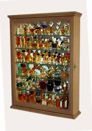 Miniature Perfume Bottle Display Case