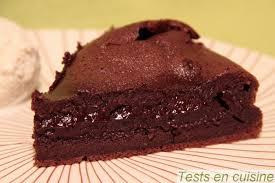 fondant au chocolat corsé nestlé dessert tests en cuisine