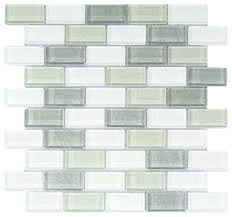 white blue gray glass mosaic wall tile contemporary mosaic