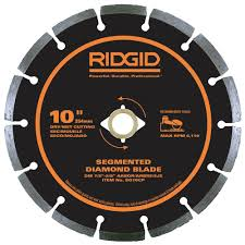 Ridgid Tile Saw Wts2000l by Saw Blades Power Tool Accessories The Home Depot
