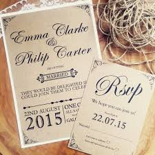 Wedding Invitation Templates Stunning Handmade Rustic Template