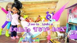 diy how to make doll toy box tack box coffee table trunk