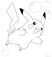 Coloring Pages Pikachu And New For
