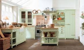 Mint Green Country Kitchen Decor