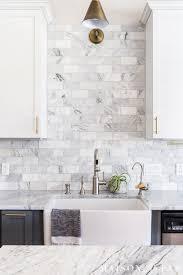 Modern Tile Backsplash Ideas For Kitchen Save Vs Splurge Kitchen Ideas Modern Farmhouse Kitchen