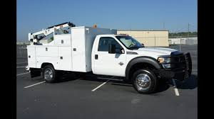 2011 FORD F-550 MECHANICS UTILITY SERVICE TRUCK FOR SALE DIESEL ...