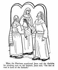 Jesus Teaching Coloring Page