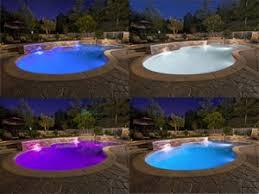 led color changing pool light bulb iron