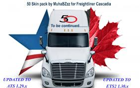 50 Skins Pack For Freightliner Cascadia Truck - ATS Mod / American ... Skin Pack For Scania 4 Series Truck Skins Ets2 Mod Truck Skins Diguiseppi Studios Nuke Counterstrike Global Offensive Mods S580 Gangster World Of Trucks Ets 2 Mods Cacola Volvo Tractor Euro Simulator Peterbilt 579 Liberty City Police Department American Gtsgrand Simulator Skin Album On Imgur Ijs Squirrel Logistics Inc Ats Hype Updated W900 Part 11 20 Freightliner Columbia