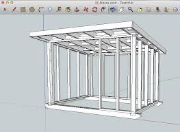 sketchup shed design plans diy free download bunk bed blueprints
