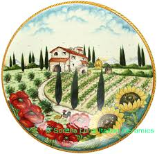 Tuscan Decorative Wall Plates by Tuscan Decorative Plates Images Reverse Search
