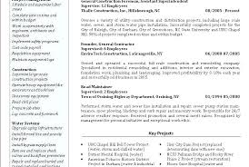 Sample Resume Office Manager Construction Company Of Template