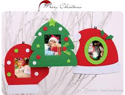 Fashion Christmas Photo Frame Multifunction Tree Ornaments Home Table Decorations 3 Styles For Party