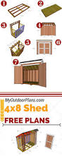 10x15 Storage Shed Plans by Free Shed Plans Building Shed Easier With Free Shed Plans My Wood