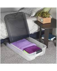 save your pennies deals on ultra 74 qt clear underbed storage