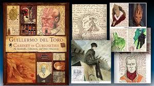 guillermo toro cabinet of curiosities hardcover book mightymega