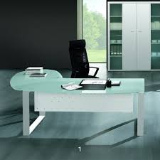 Glass And Metal Computer Desk With Drawers by Computer Desk With Drawers L Shaped Glass Desk Modern Writing Desk