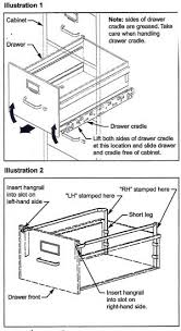 Hon Filing Cabinet Lock Install by Hon File Cabinet Parts And Accessories File Bars Hangrails File