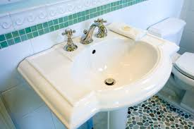Replacing A Faucet On A Pedestal Sink by Things To Consider When Buying A Pedestal Sink