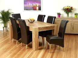 Dining Room Furniture Used Small Oak Table And Chairs Solid