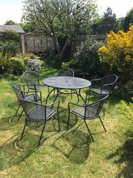 Garden Furniture Metal Table And 6 Chairs Brompton Metal Garden Rectangular Set Fniture Compare 56 Bistro Black Wrought Iron Cafe Table And Chairs Pana Outdoors With 2 Pcs Cast Alinium Tulip White Vintage Patio Ding Buy Tables Chairsmetal Gardenfniture Italian Terrace Fniture Archives John Lewis Partners Ala Mesh 6seater And Bronze Home Hartman Outdoor Products Uk Our Pick Of The Best Ideal Royal River Oak 7piece Padded Sling Darwin Metal 6 Seat Garden Ding Set