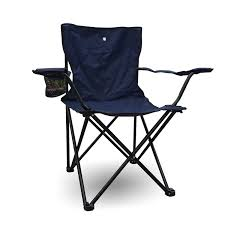 Camping Folding Chair Outdoor Garden Director Picnic (Navy ...