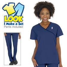 Ceil Blue Scrubs Sets by Medical Scrub Sets Scrubin Com