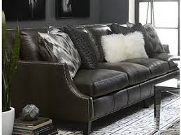 Havertys Furniture Leather Sleeper Sofa by Living Rooms Havertys