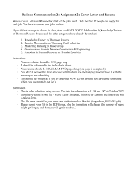 Business Communication 2 : Assignment 2 : Cover Letter And Resume Free One Page Resume Template New E Sample 2019 Templates You Can Download Quickly Novorsum When To Use A Examples A Powerful One Page Resume Example You Can Use 027 Ideas Impressive Cascade Onepage 15 And Now Rumes 25 Example Infographic Awesome Guide The Rsum Of Elon Musk By How Many Pages Should Be General Freshstyle With 01docx Writer