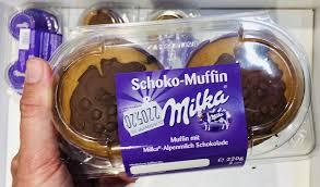 muffins als fertig gebackene küchlein backmischungen oder aroma