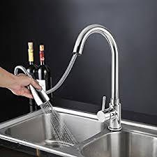 robinet pour evier cuisine icoco robinet de cuisine mitigeur retractable avec douchette avec