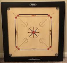 Image Is Loading Surco Classic Vintage Carrom Board