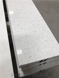 104 Glass Kitchen Counter Tops White Crushed Quartz Stone For Tops From China Stonecontact Com