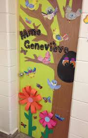 Halloween Classroom Door Decorations Pinterest by 155 Best Portes Classes Images On Pinterest Decorated Doors