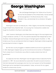 Presidents Day Coloring Worksheet
